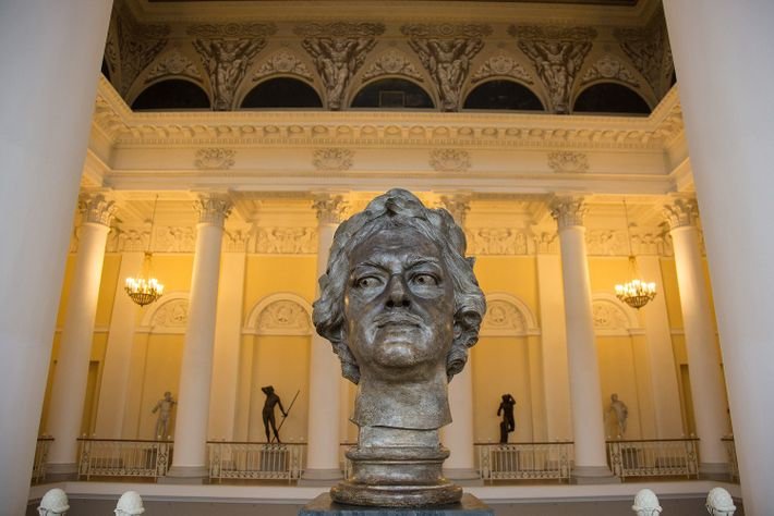Busto do czar Pedro I