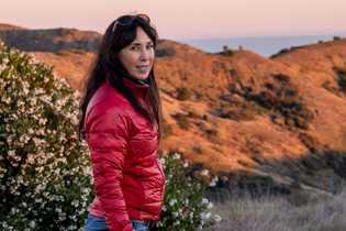 Lotus Vermeer, a antiga gerente da propriedade da The Nature Conservancy, na ilha de Santa Cruz, ...