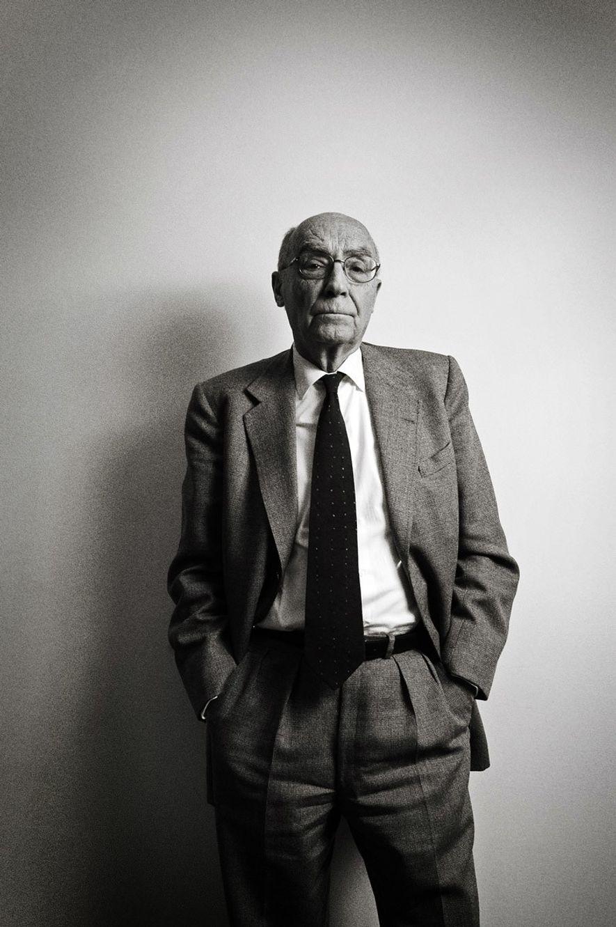 Fotografia de José Saramago, vencedor do Prémio Nobel