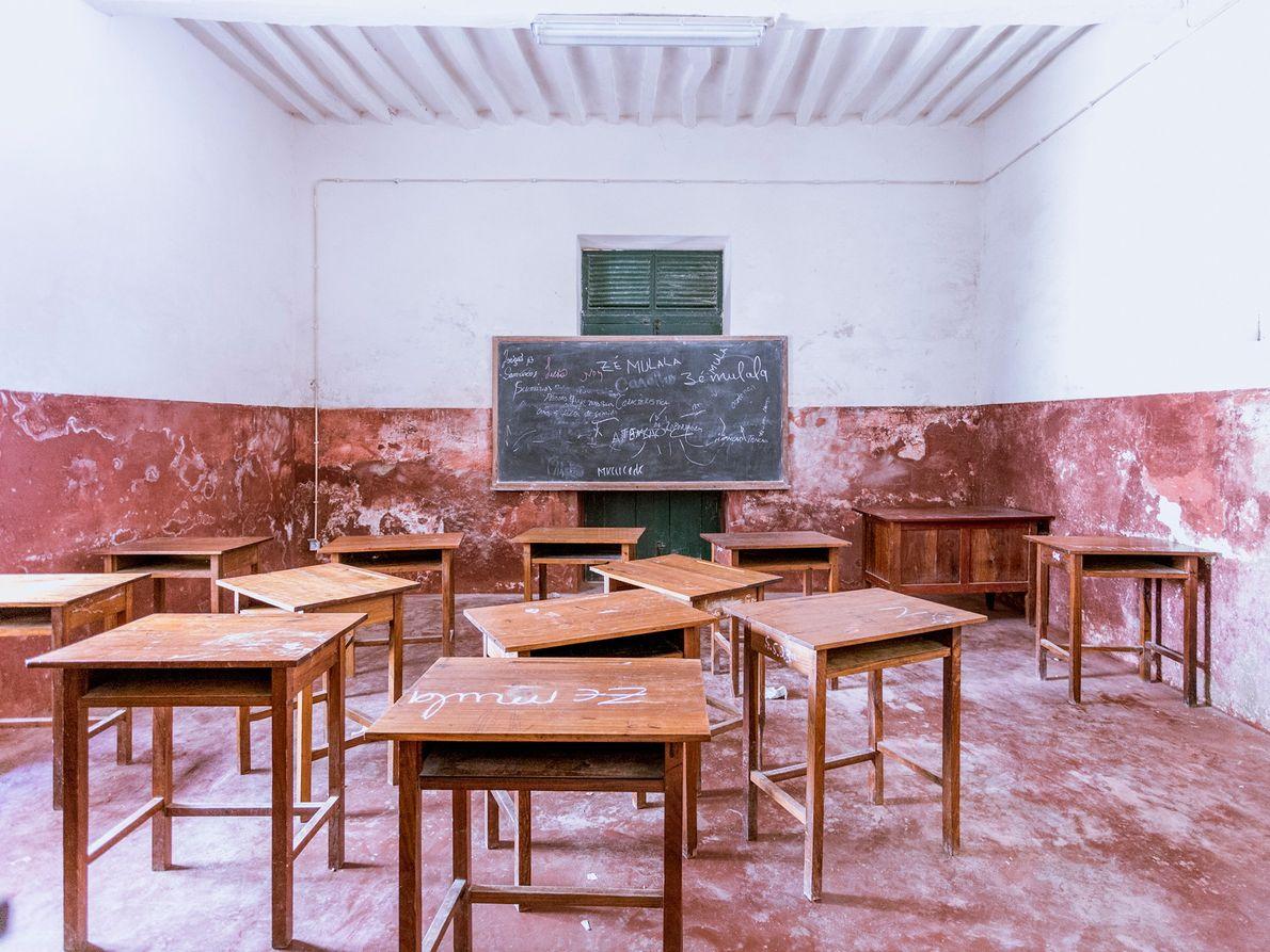 Escola na Ilha de Moçambique