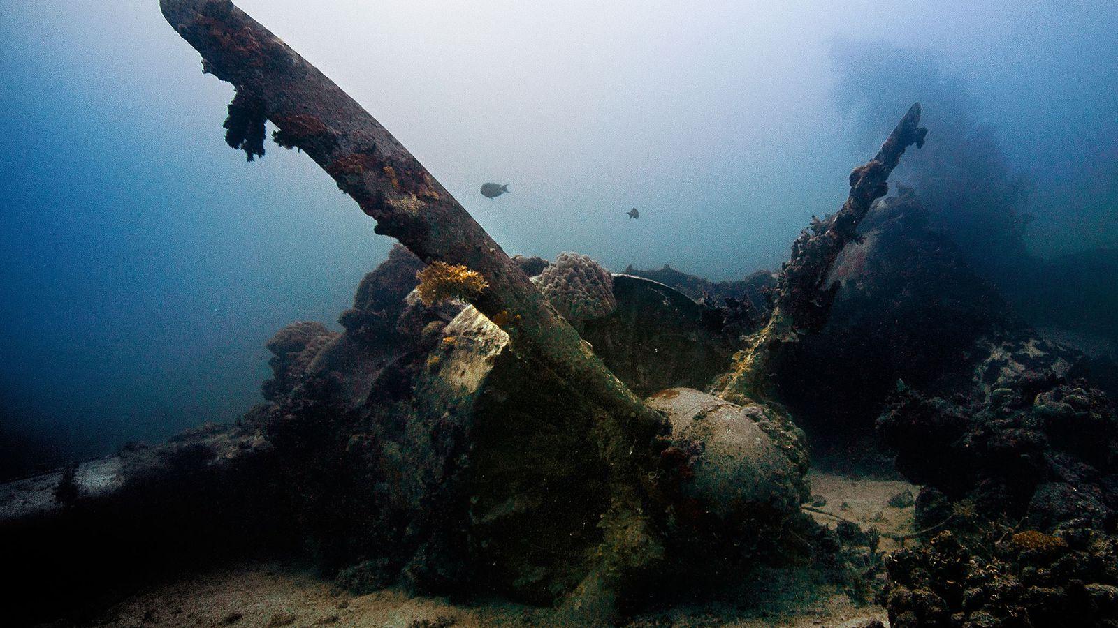 Lagoa Chuuk.