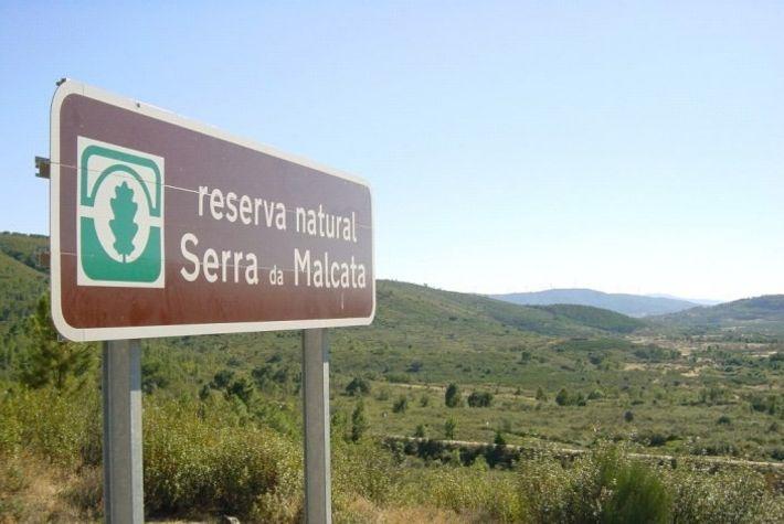 Localização da Reserva Natural da Serra da Malcata