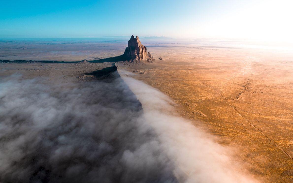 Formação rochosa no Novo México