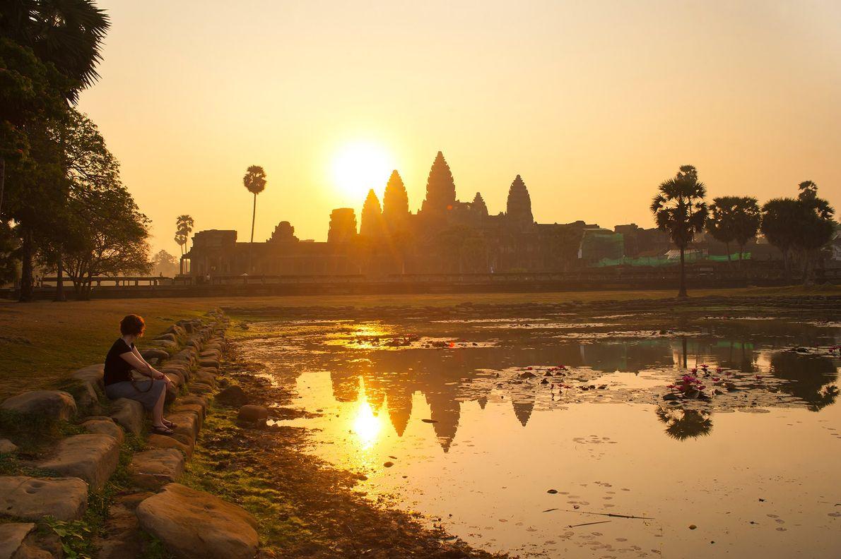 SIEM REAP, CAMBOJA Razões para ir: Apesar do Camboja não rivalizar com a cena mais animada da ...