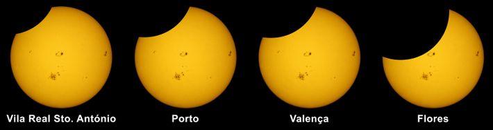 Simulação do Eclipse de 10 de junho de 2021