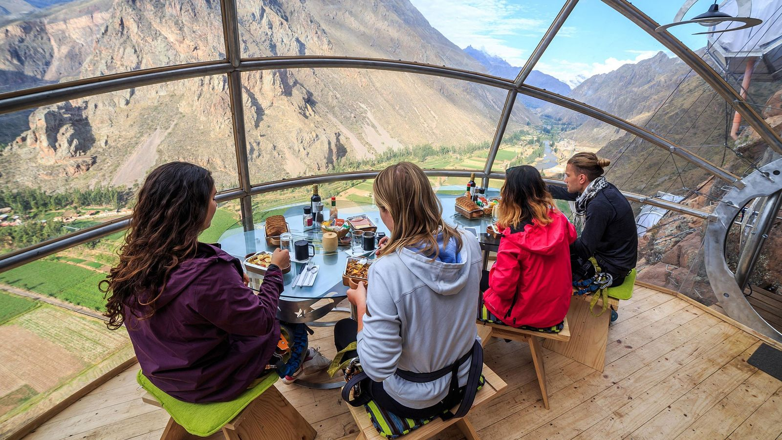 Skylodge Adventure Suites in Peru isn't for those scared of heights. Challenge yourself and embrace the ...