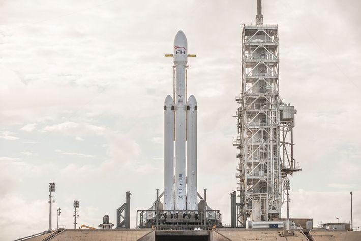 Lançamento do Grande Foguete Espacial
