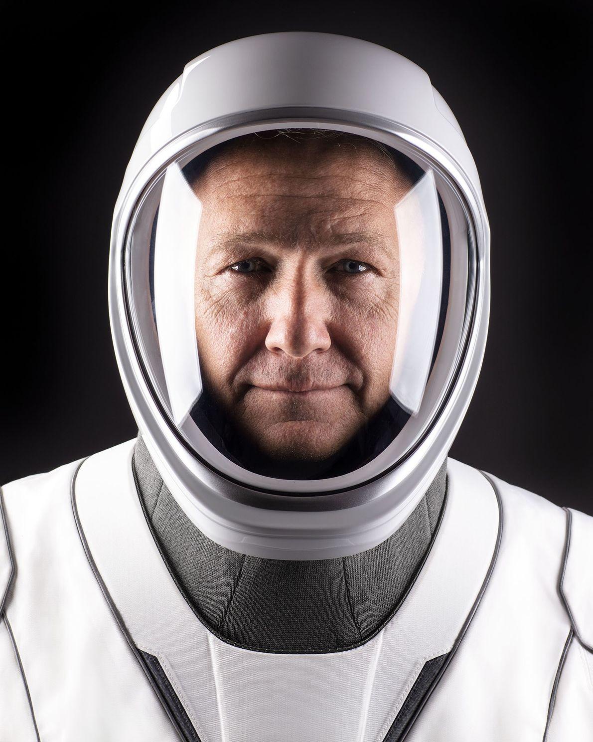 Doug Hurley, comandante da missão Demo-2 com destino à Estação Espacial Internacional.