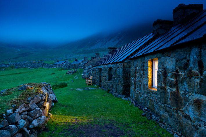 Uma casa de aldeia em St. Kilda
