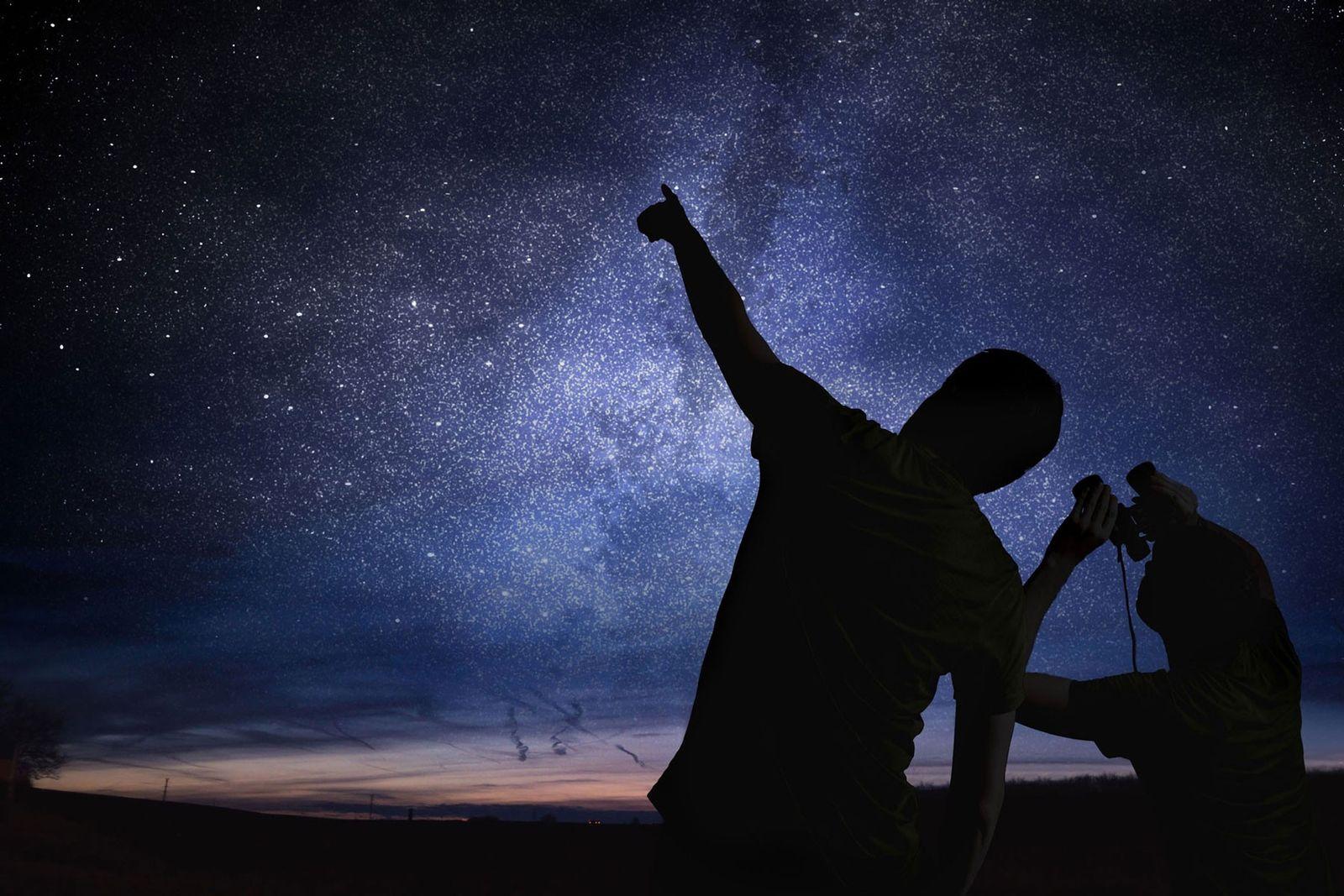 Precisa de Uma Nova Ideia Para Entreter os Seus Filhos? Experimente Observação de Estrelas.