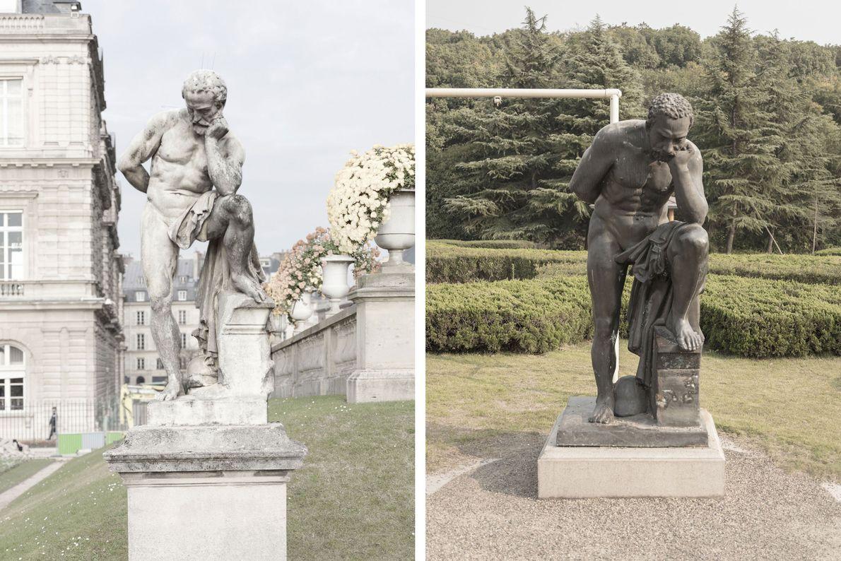 Esculturas em mármore