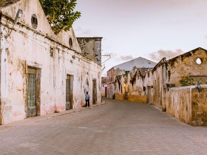 Ruas da Ilha de Moçambique
