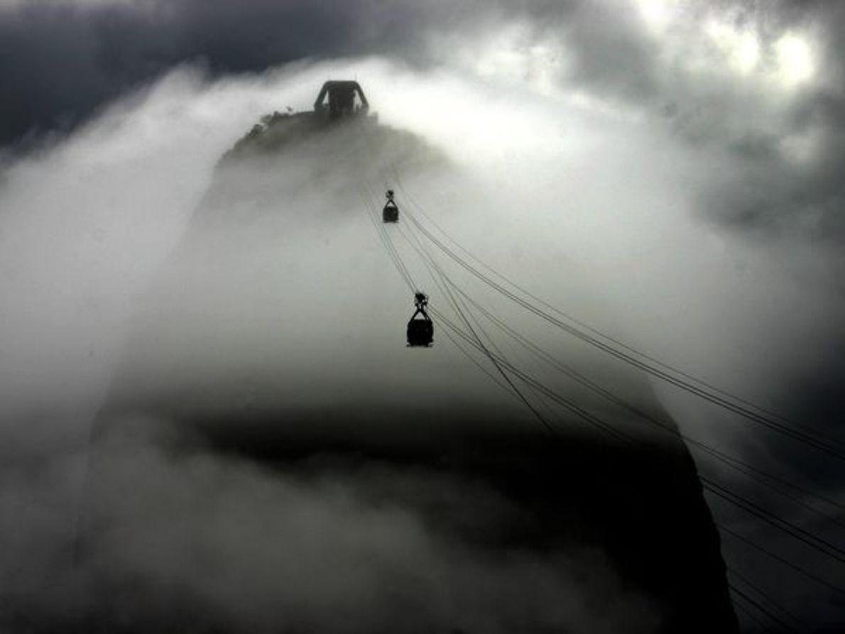 Os Teleféricos da Montanha Pão-de-Açucar