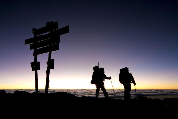 por do sol kilimanjaro