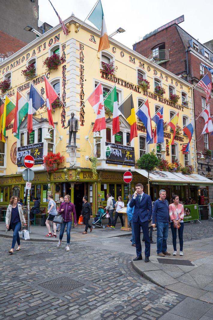 Temple Bar District Dublin