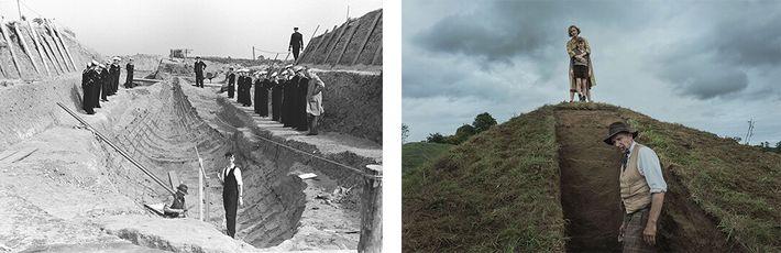 escavação de Sutton Hoo