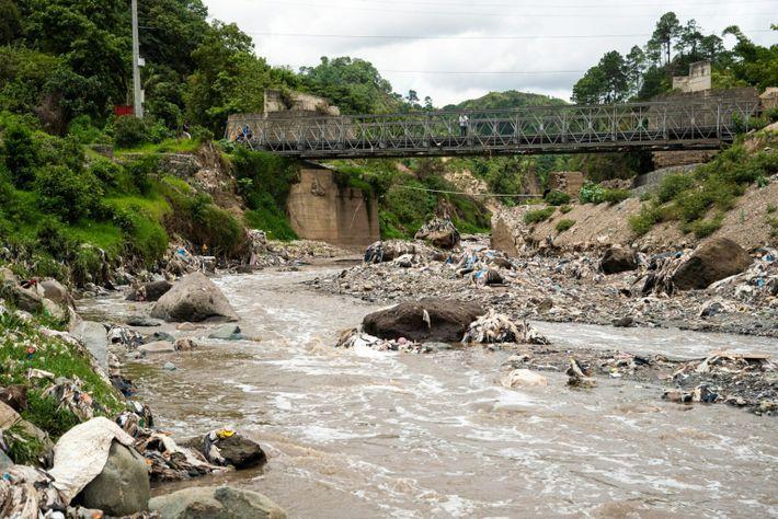 io Las Vacas, na Guatemala
