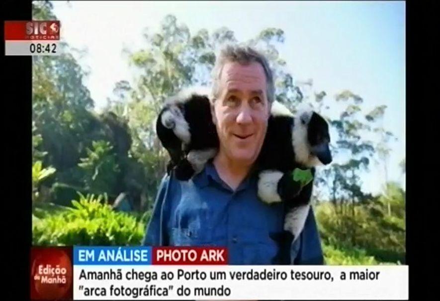 """""""Chega ao Porto Um Verdadeiro Tesouro: A Maior Arca Fotográfica do Mundo"""" - SIC"""