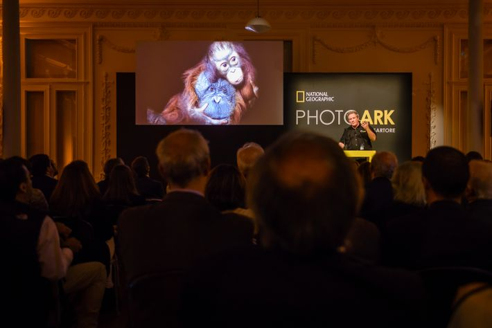 Joel Sartore Apresenta o Photo Ark no Porto