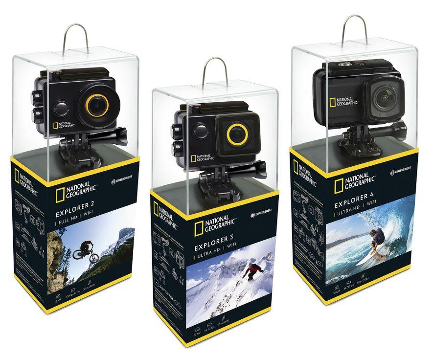 Novas Câmaras de Ação da National Geographic