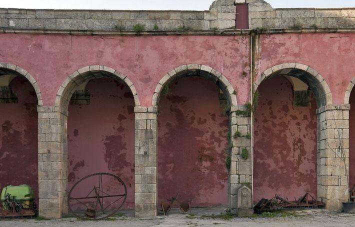 Átrio do Mosteiro de Tibães