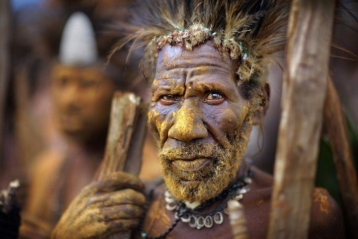 Homem de uma tribo