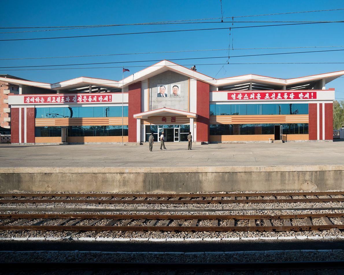 A rota de Pequim a Pyonyang passa por uma estação tranquila.