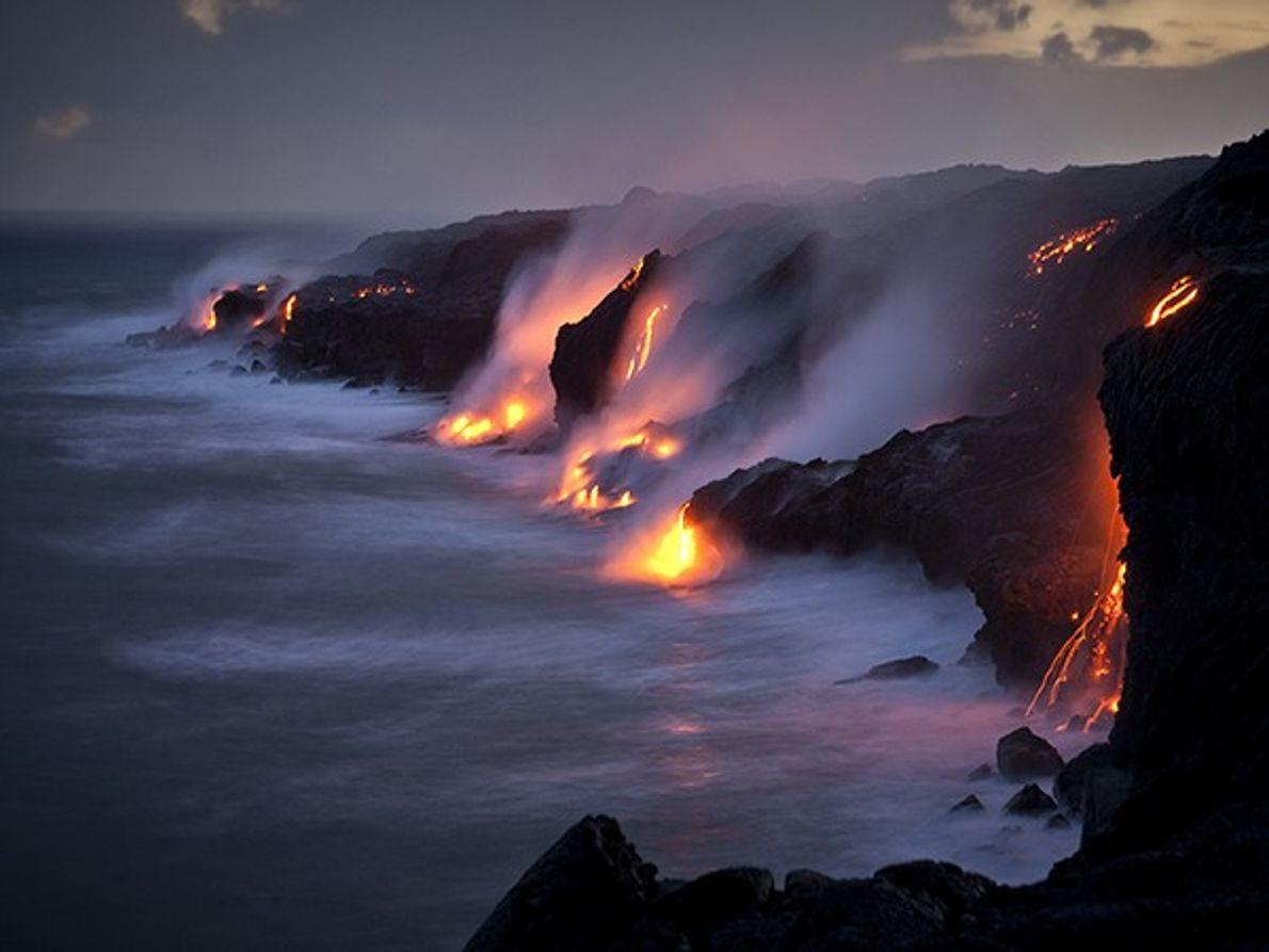 Explore o Parque Nacional dos Vulcões, Havai