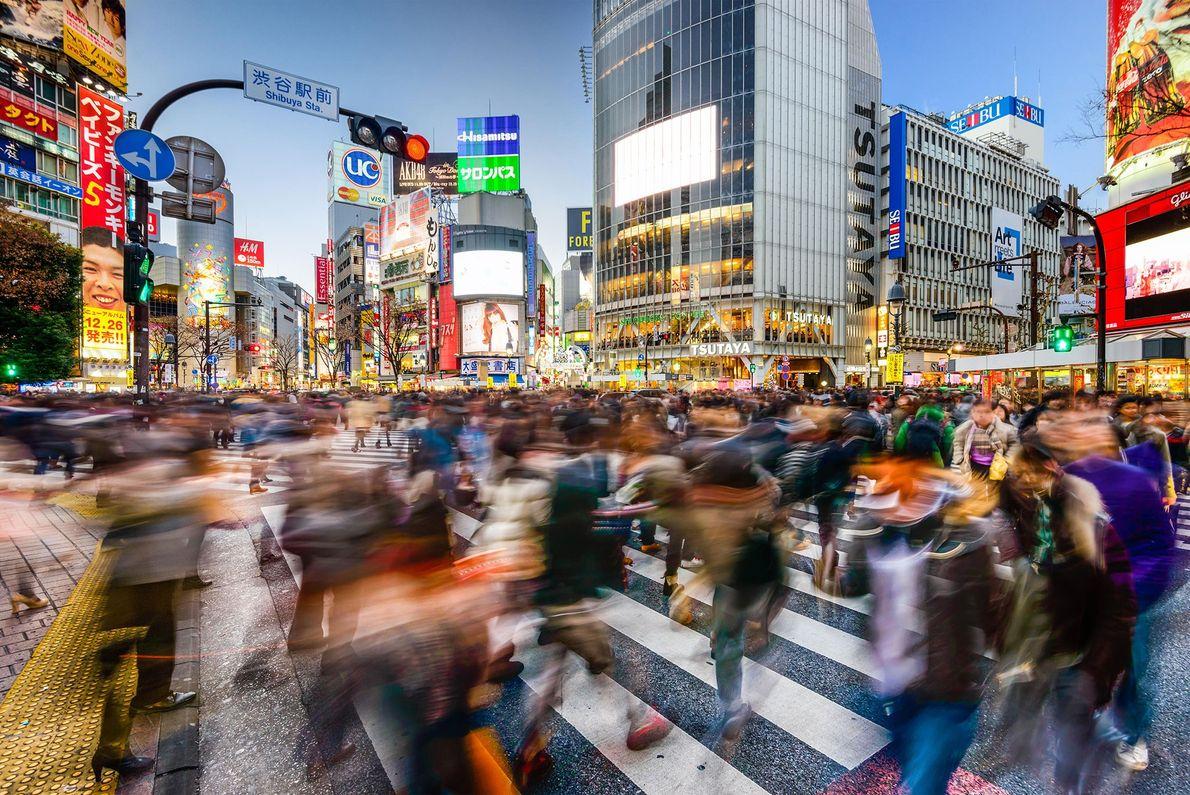 Shibuya Crossing, em Tóquio.