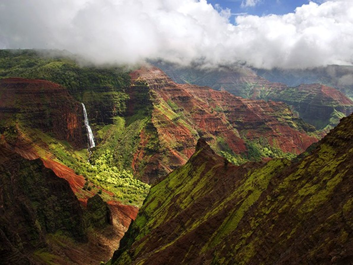 Vagueie pelo Grande Canyon do Pacífico, Kauai