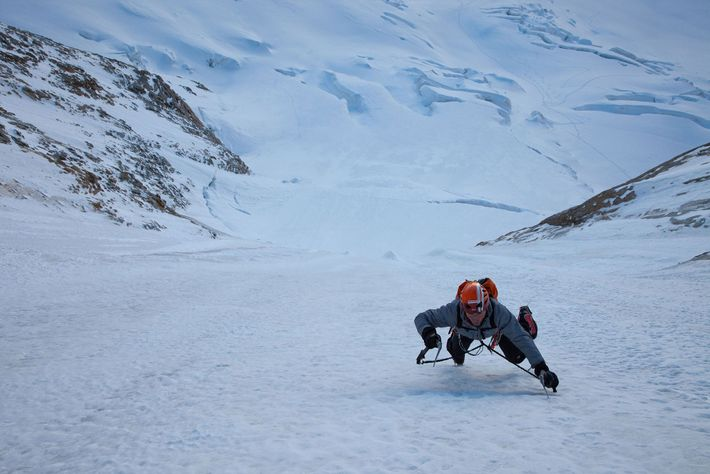 Ueli Steck, Ice Climbing Colton Macintyre