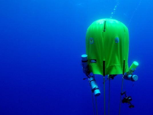 Este Equipamento Permite Acampar Debaixo de Água