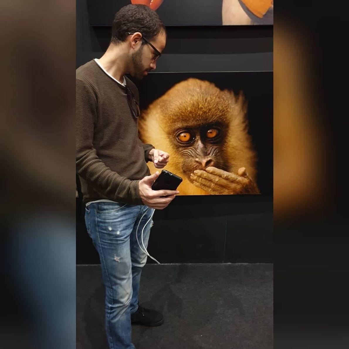 Imagem do vencedor @titogodinho na exposição Photo Ark