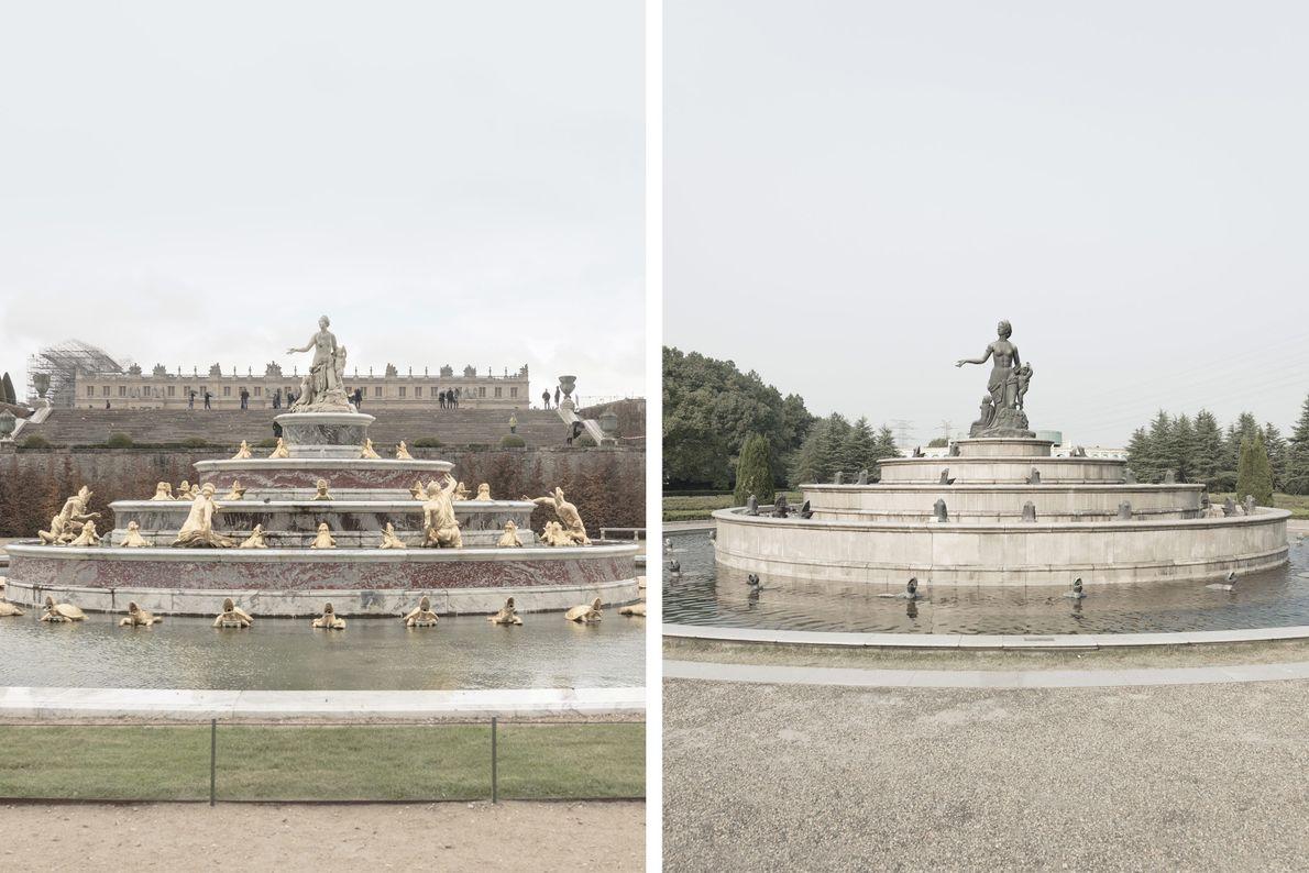 Fonte de Latona em Paris