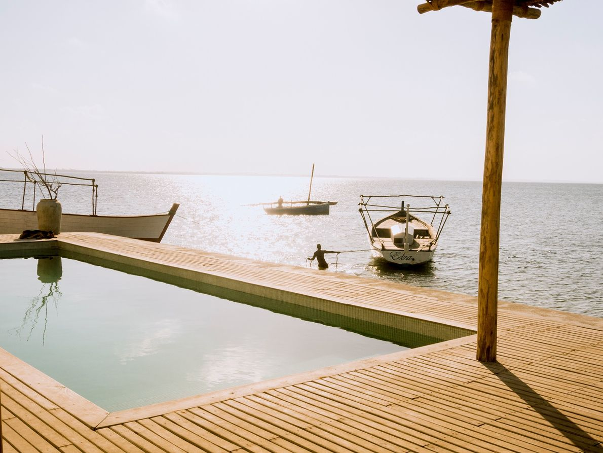 Estância Villa Sands na Ilha de Moçambique