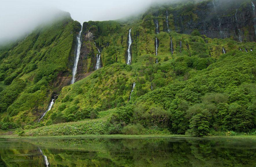 Lagoa das Patas, Açores