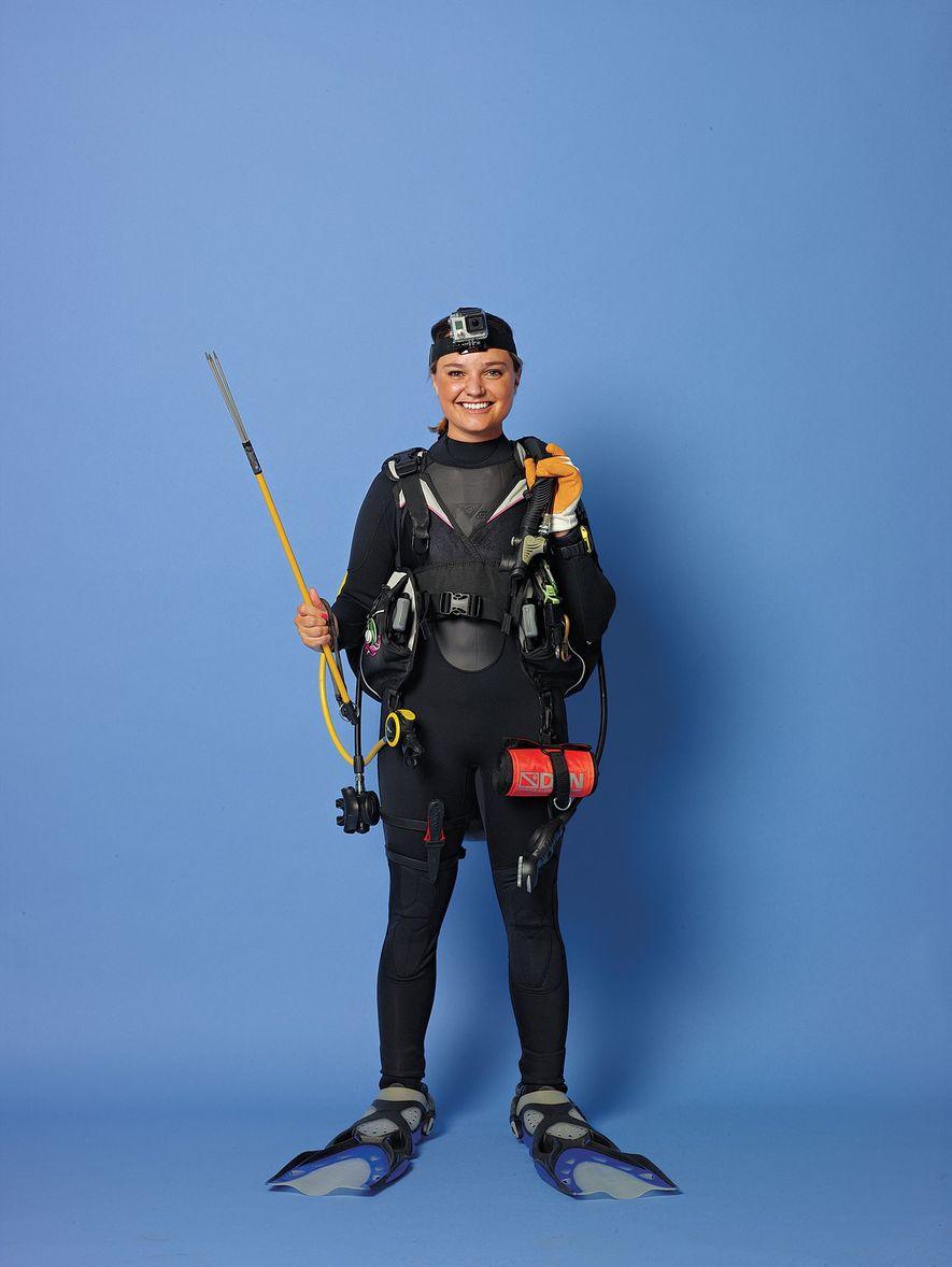 Erin Spencer, exploradora da National Geographic, integrou a comunidade aos 19 anos de idade, quando lhe ...