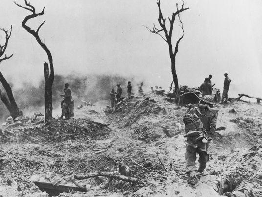 Memórias da Carnificina da Segunda Guerra Mundial Numa Caminhada Pela Índia