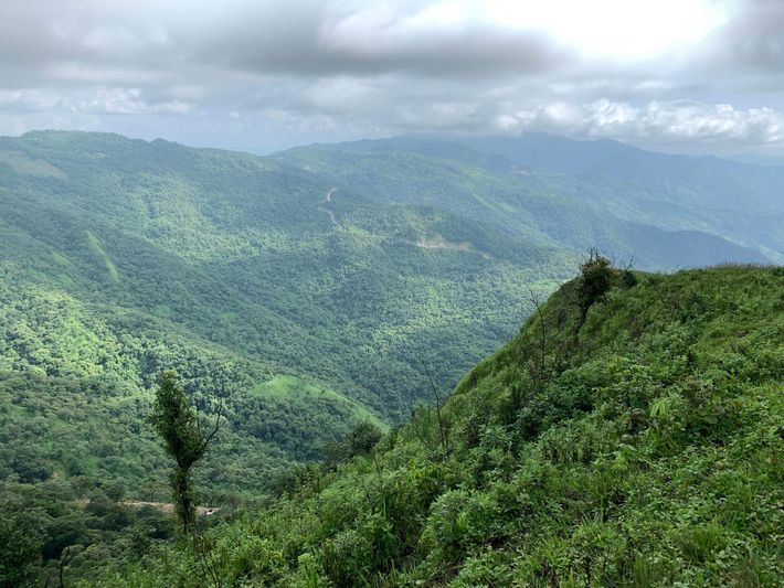 As colinas de Manipur são hoje um paraíso verdejante, mas durante a Segunda Guerra Mundial, quando ...