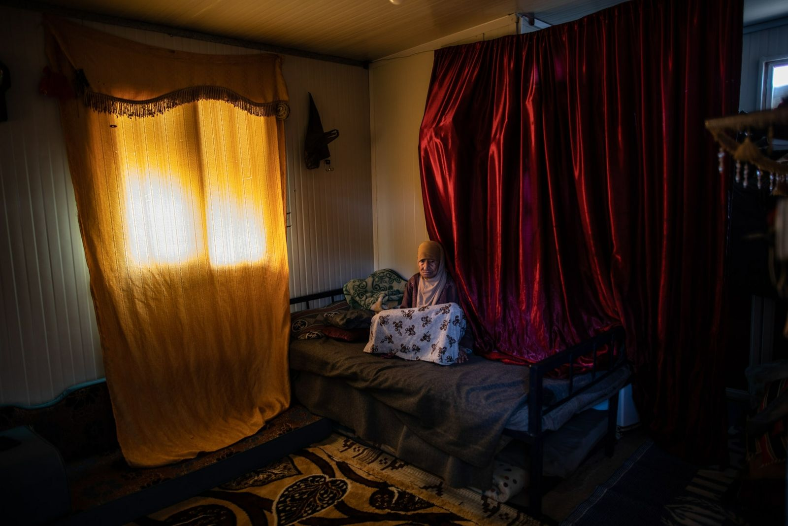 centro de refugiados - residente centenária