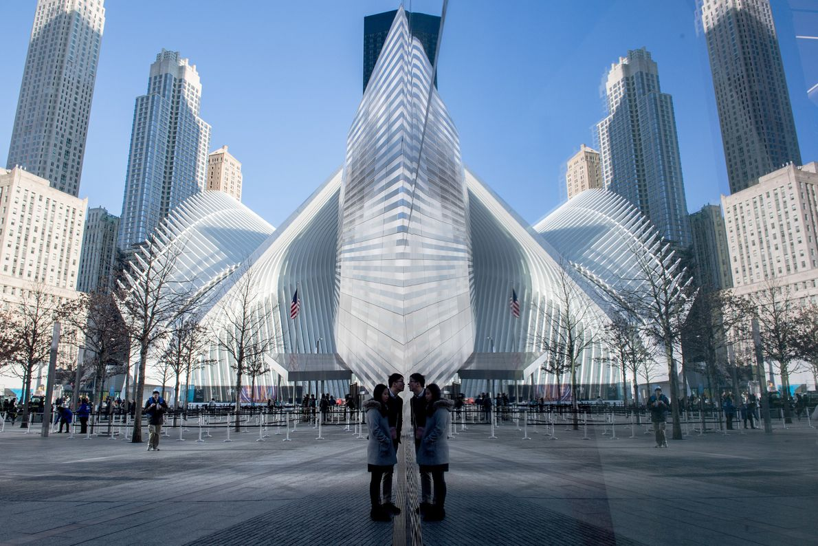 Museu Nacional e Memorial do 11 de setembro, Nova Iorque.